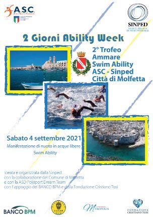 2° TROFEO Ammare Swim Ability ASC-SINPED Città di Molfetta