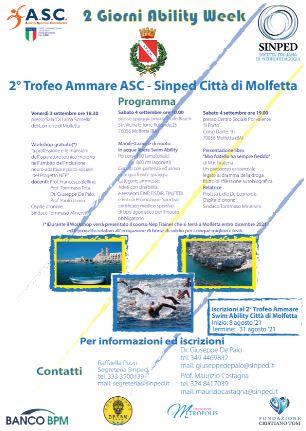2° TROFEO AMMARE SWIM ABILITY ASC-SINPED CITTA' DI MOLFETTA